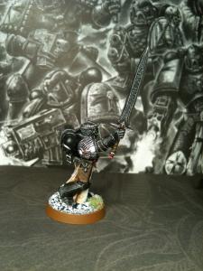 Jeder Black Templars Kreuzzug hat seinen eigenen Champion des Imperators. Fällt dieser, gilt das als schlechtes Omen, und die Black Templars werden alles daran setzen, seinen Körper vom Schlachtfeld zu bergen.