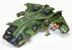 Der Space Marine Stormeagle wird bei Forge World £80 kosten.