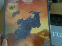 Aus aktuellem Anlass löste ich meinen gewonnenen Gutschein gegen den umstrittenen Flieger der Space Marines ein.